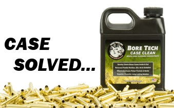 Gun cleaner solutions for brass case