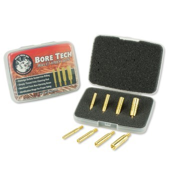Remove lodged bullets with pistol cleaning kits