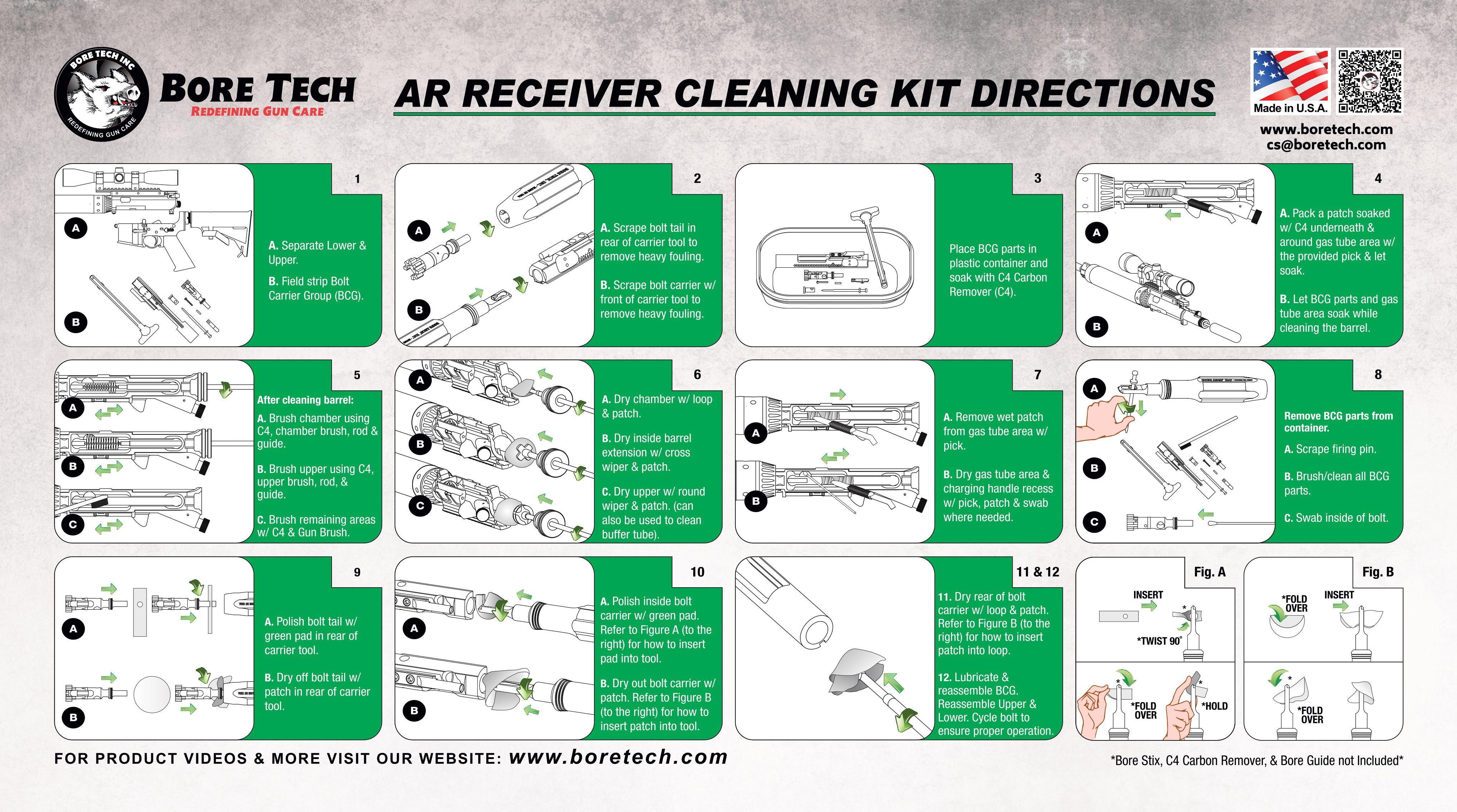 gun cleaning instructions pdf